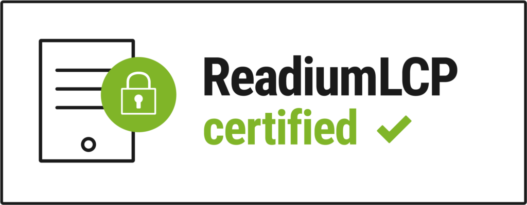 Logo READIUM LCP Certified